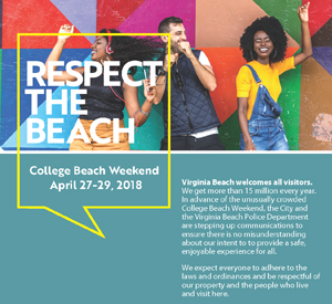 Image Of College Beach Week Mailing