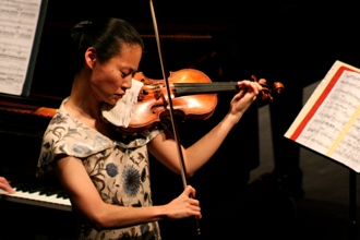 Midori performs at the Sandler Center, 2008