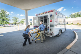 volunteer with ems