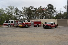 Station 13 engines and truck