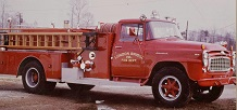 Antique ladder truck