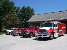 Station 8 with trucks