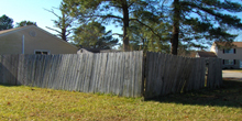 Fence in disrepair