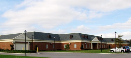 Juvenile Detenction Center building