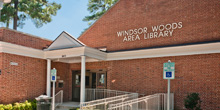 Windsor Woods Library building