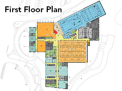 Kempsville First Floot Plan