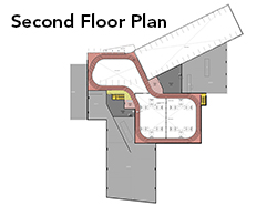 Kempsville Second Floor Plan