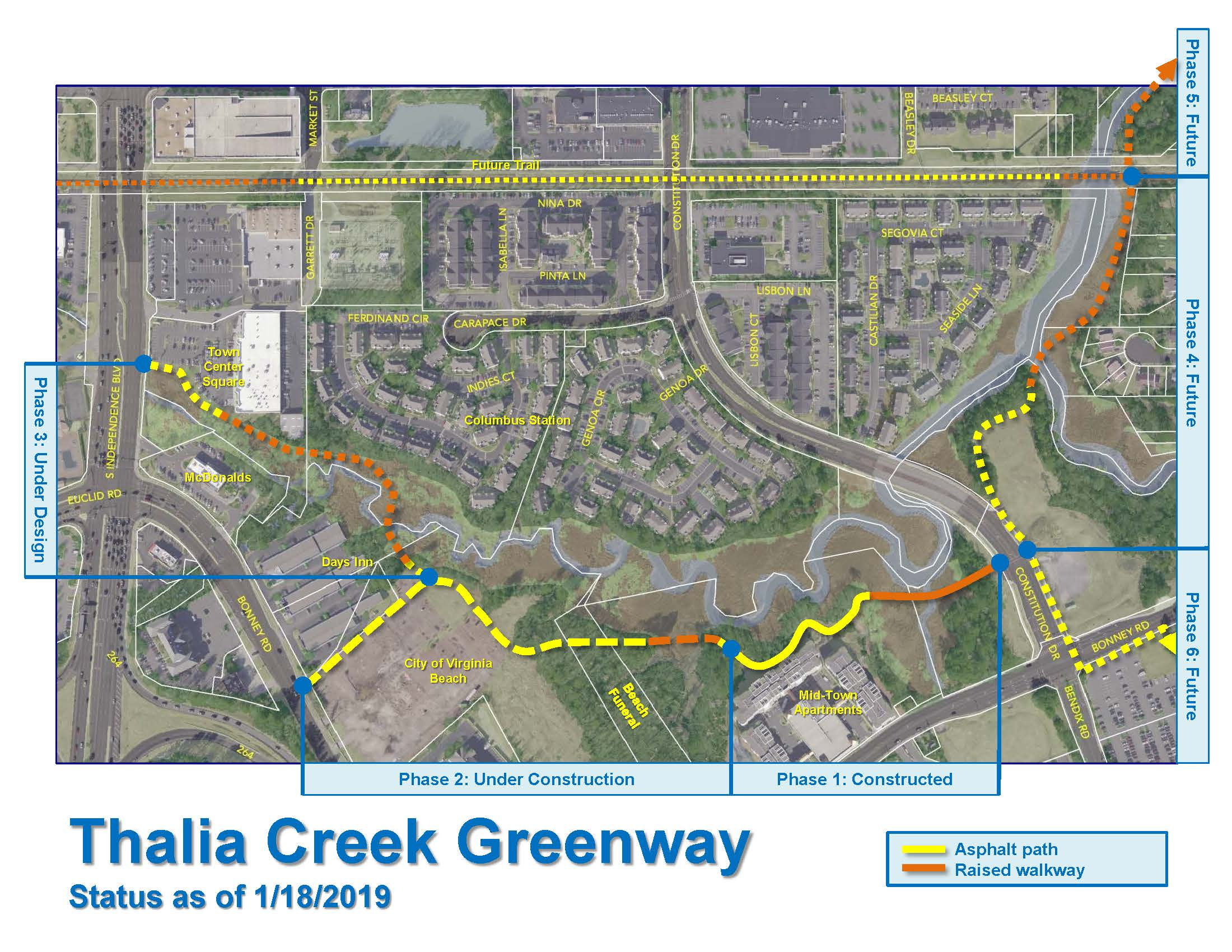 Thalia Creek Greenway