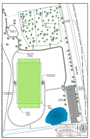 Salem Woods Park Site Plan Phase 1 Image