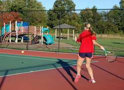 Tennis Play at Lynnhaven Park