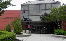 Exterior of Princess Anne Recreation Center