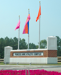 Princess Anne Athletic Complex entrance