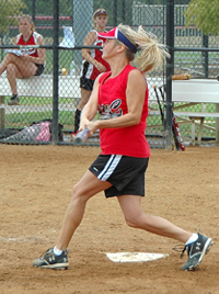 Adult Softball Player