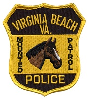 Mounted Patrol Patch