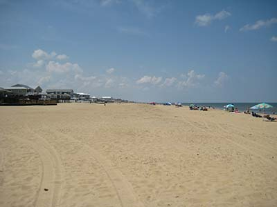 Sandbridge beach replenishment city of for Surf fishing virginia beach