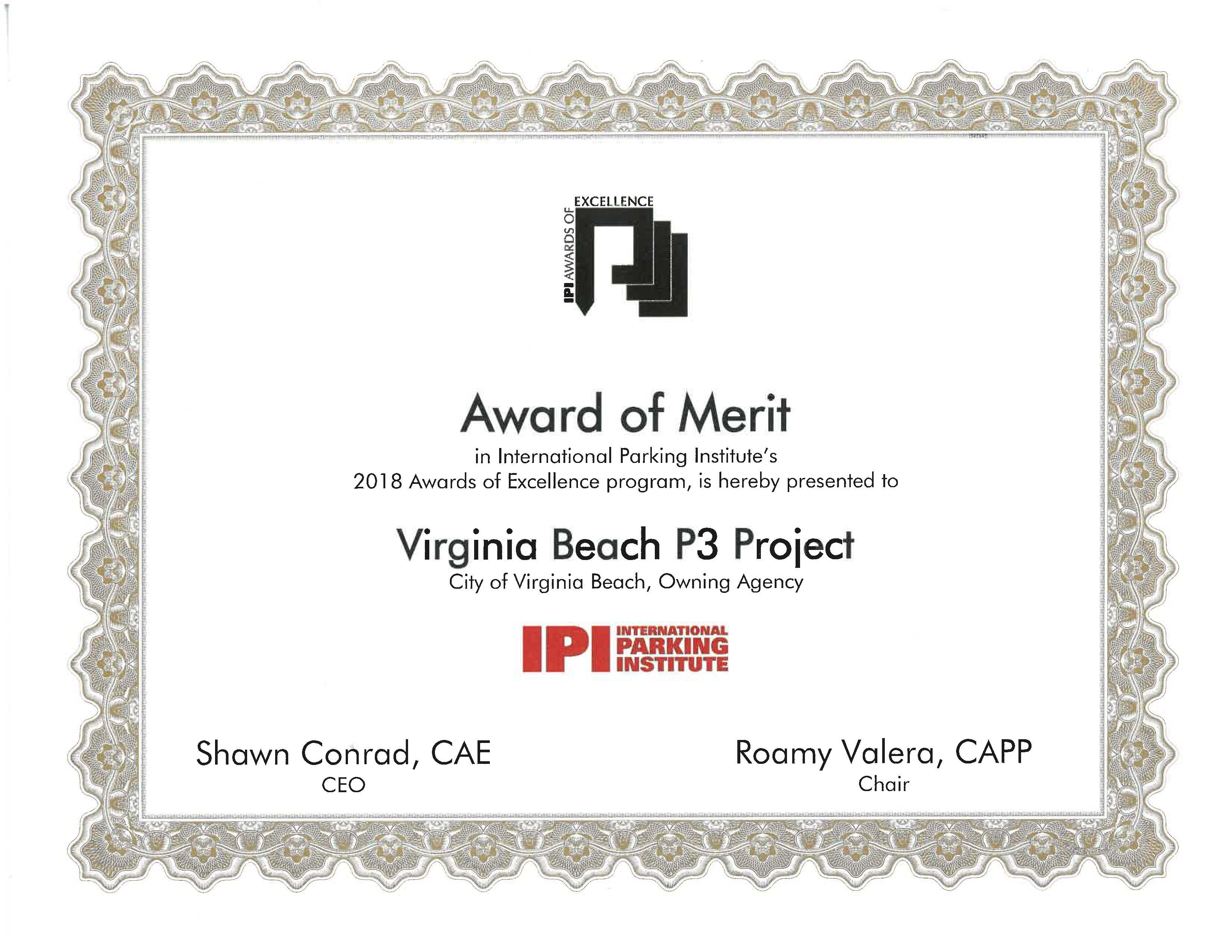 Awards And Certifications Vbgov City Of Virginia Beach