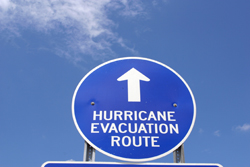 Evacuation sign