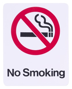 No smoking mark